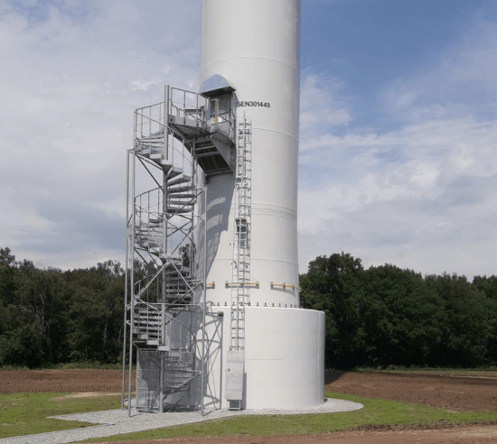 Windturbine triflex towersafe